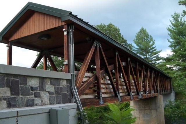 Canton NY truss bridge