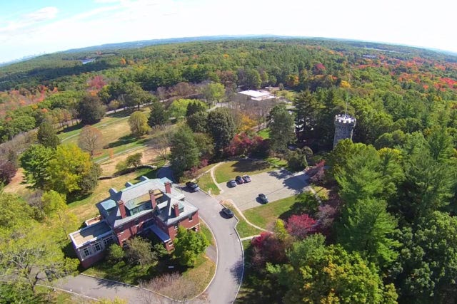 Regis College aerial view